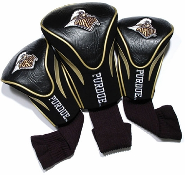Purdue Set of Three Contour Headcovers