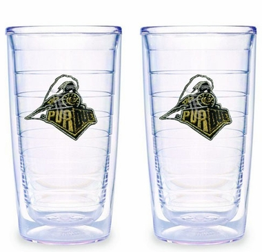 Purdue Set of TWO 16 oz. Tervis Tumblers