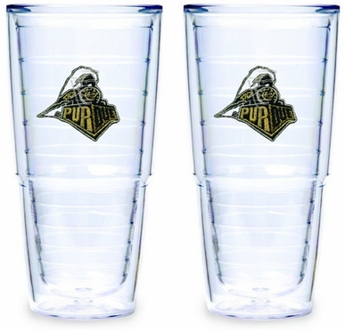 Purdue Set of TWO 24 oz. Tervis Tumblers