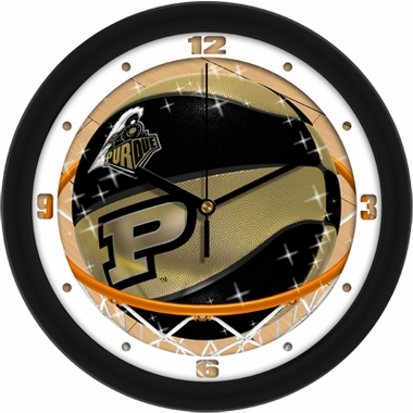 Purdue Slam Dunk Wall Clock