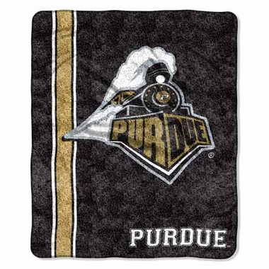 Purdue Super-Soft Sherpa Blanket