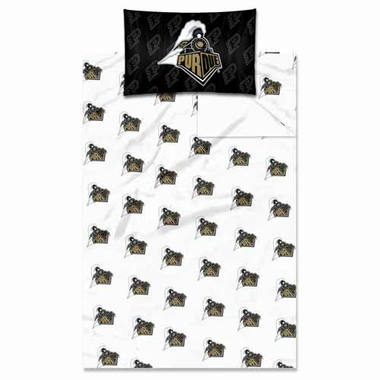 Purdue Twin Sheet Set