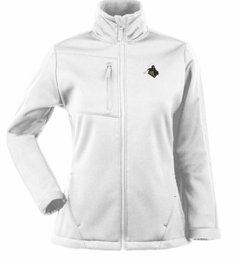 Purdue Womens Traverse Jacket (Color: White)