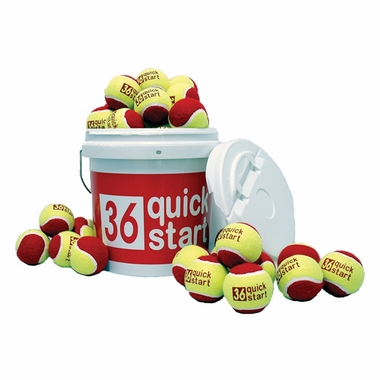 QuickStart 36' Court Balls (30 Ball Set)