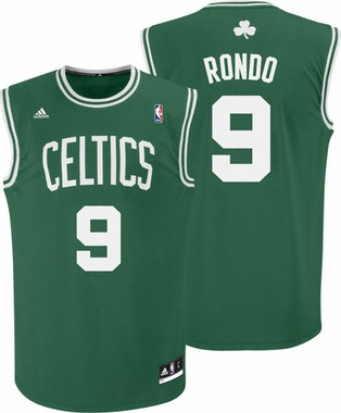 Rajon Rondo Adidas Boston Celtics Replica Green YOUTH Jersey