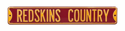 Redskins Country Street Sign