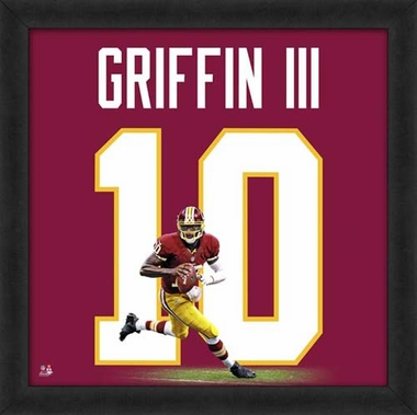 "Robert Griffin III, Redskins UNIFRAME 20"" x 20"""