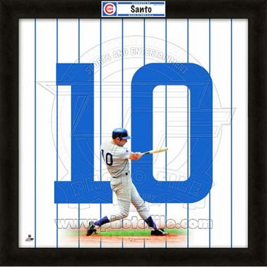 "Ron Santo, Cubs UNIFRAME 20"" x 20"""
