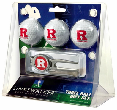 Rutgers 3 Ball Gift Pack With Kool Tool