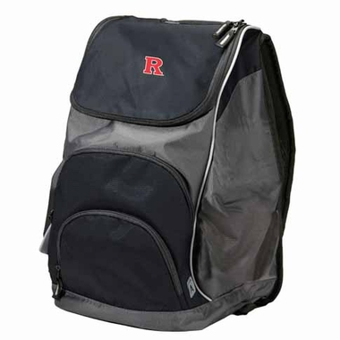 Rutgers Action Backpack (Color: Black)