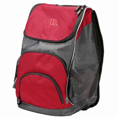 Rutgers Action Backpack (Color: Red)