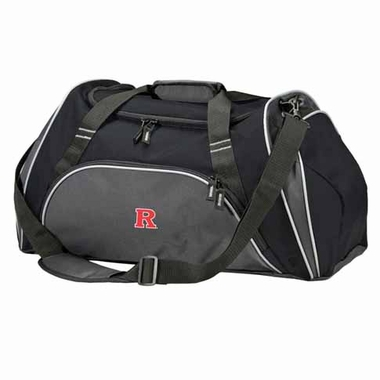 Rutgers Action Duffle (Color: Black)