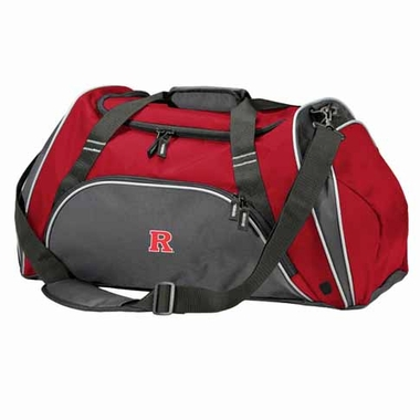Rutgers Action Duffle (Color: Red)