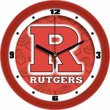 Rutgers Dimension Wall Clock