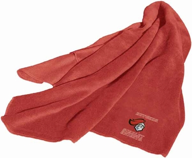 Rutgers Fleece Throw Blanket