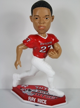 Rutgers Ray Rice Thematic Base Bobblehead