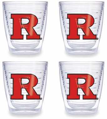 Rutgers Set of FOUR 12 oz. Tervis Tumblers