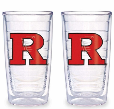 Rutgers Set of TWO 16 oz. Tervis Tumblers