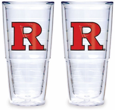 Rutgers Set of TWO 24 oz. Tervis Tumblers