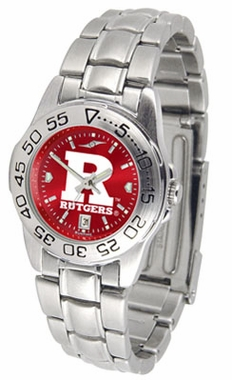 Rutgers Sport Anonized Women's Steel Band Watch