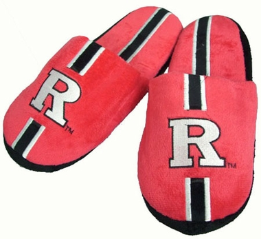 Rutgers Team Stripe Slide Slippers