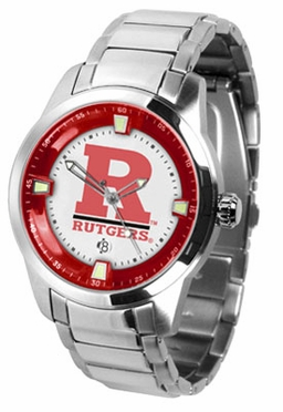 Rutgers Titan Men's Steel Watch