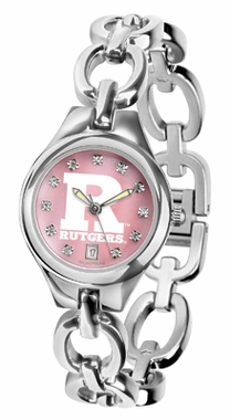 Rutgers Women's Eclipse Mother of Pearl Watch