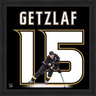 "Ryan Getzlaf, Ducks UNIFRAME 20"" x 20"""