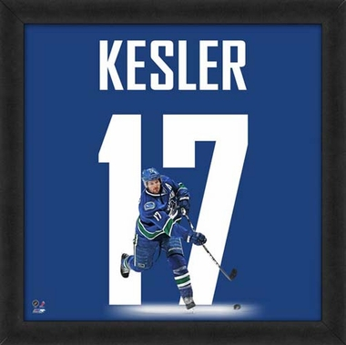 "Ryan Kesler, Canucks UNIFRAME 20"" x 20"""