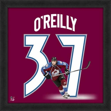 "Ryan O'Reilly, Avalanche UNIFRAME 20"" x 20"""