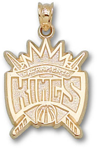 Sacramento Kings 14K Gold Pendant