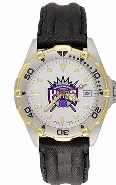 Sacramento Kings All Star Mens (Leather Band) Watch