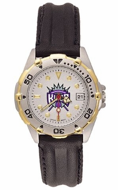 Sacramento Kings All Star Womens (Leather Band) Watch