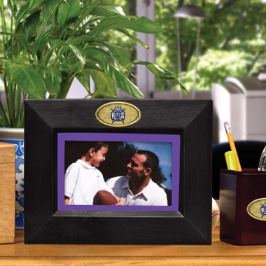 Sacramento Kings BLACK Landscape Picture Frame