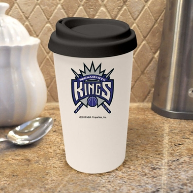 Sacramento Kings Ceramic Travel Cup