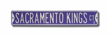 Sacramento Kings Ct Street Sign