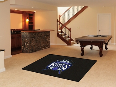 Sacramento Kings Economy 5 Foot x 8 Foot Mat