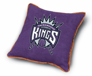 Sacramento Kings Microsuede Toss Pillow