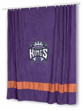 Sacramento Kings MVP Microsuede Shower Curtain