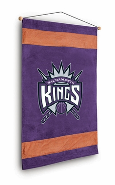 Sacramento Kings MVP Microsuede Wallhanging