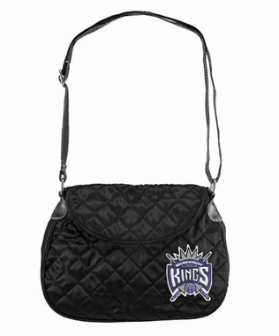 Sacramento Kings Quilted Saddlebag