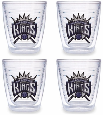 Sacramento Kings Set of FOUR 12 oz. Tervis Tumblers