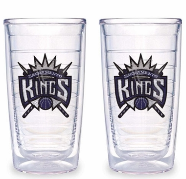 Sacramento Kings Set of TWO 16 oz. Tervis Tumblers