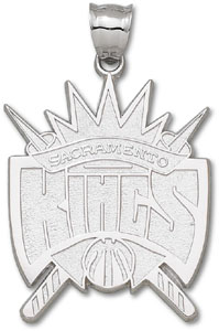 Sacramento Kings Sterling Silver Pendant
