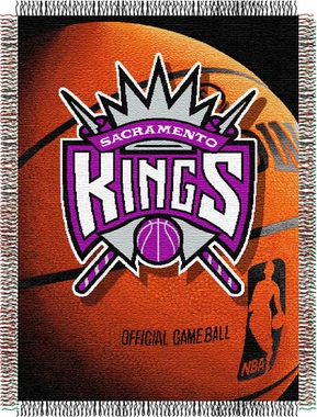 Sacramento Kings Woven Tapestry Blanket