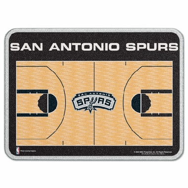 San Antonio Spurs 11 x 15 Glass Cutting Board