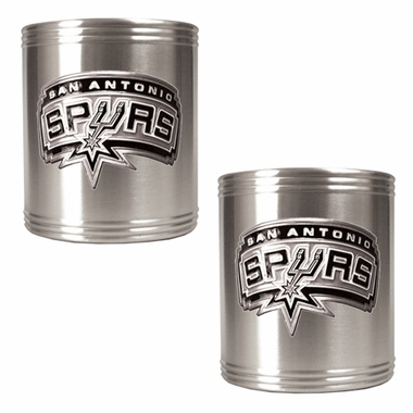 San Antonio Spurs 2 Can Holder Set