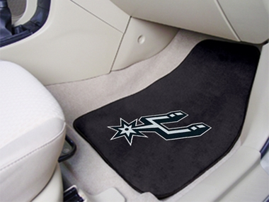 San Antonio Spurs 2 Piece Car Mats