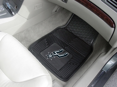 San Antonio Spurs 2 Piece Heavy Duty Vinyl Car Mats