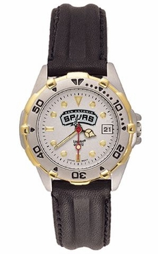 San Antonio Spurs All Star Womens (Leather Band) Watch